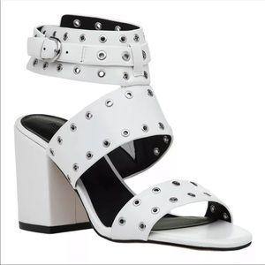 Rebecca Minkoff Carter Grommet Sandal Ankle Strap